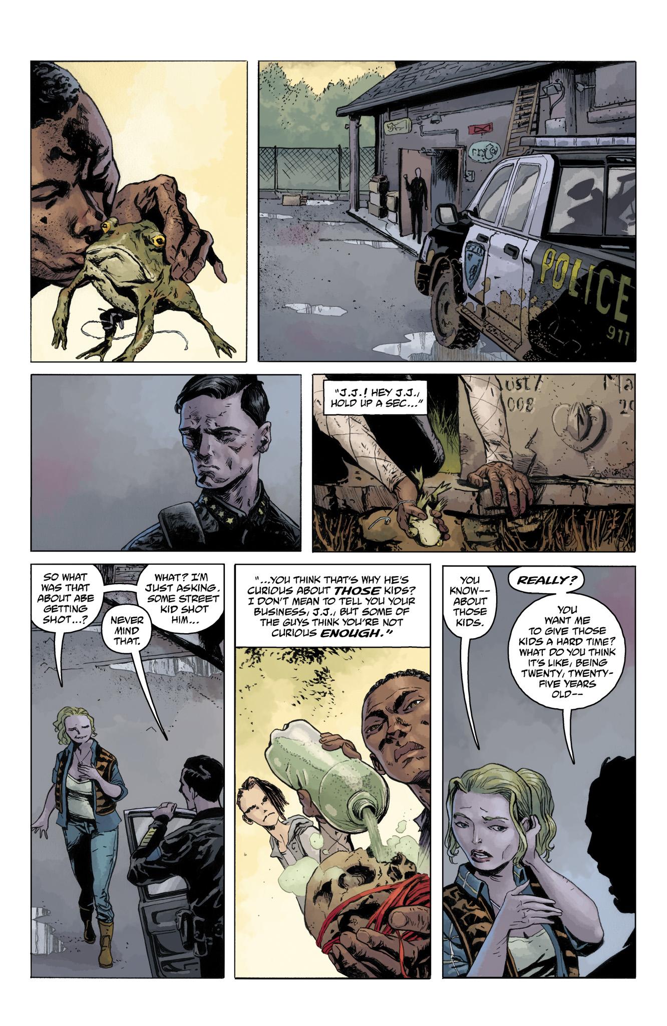 Read online Abe Sapien comic -  Issue #10 - 24