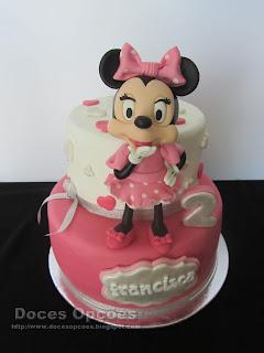 A Minnie no 2º aniversário da Francisca
