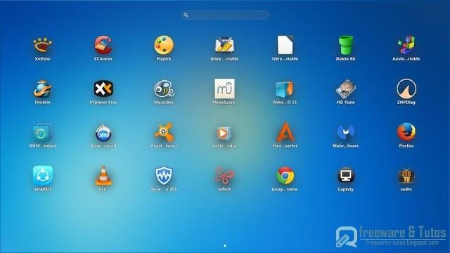 PaperPlane Smart Launch : un lanceur d'applications de style iPad