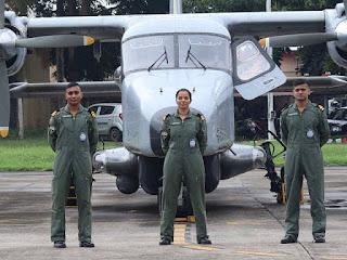 1st Woman Pilot of Indian Navy