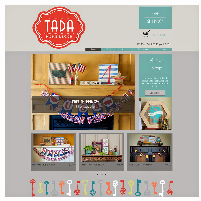 Homedecor Com: Chalkboard Blue: Introducing Tada-HomeDecor