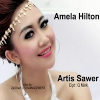 Lirik Lagu Amela Hilton Artis Sawer