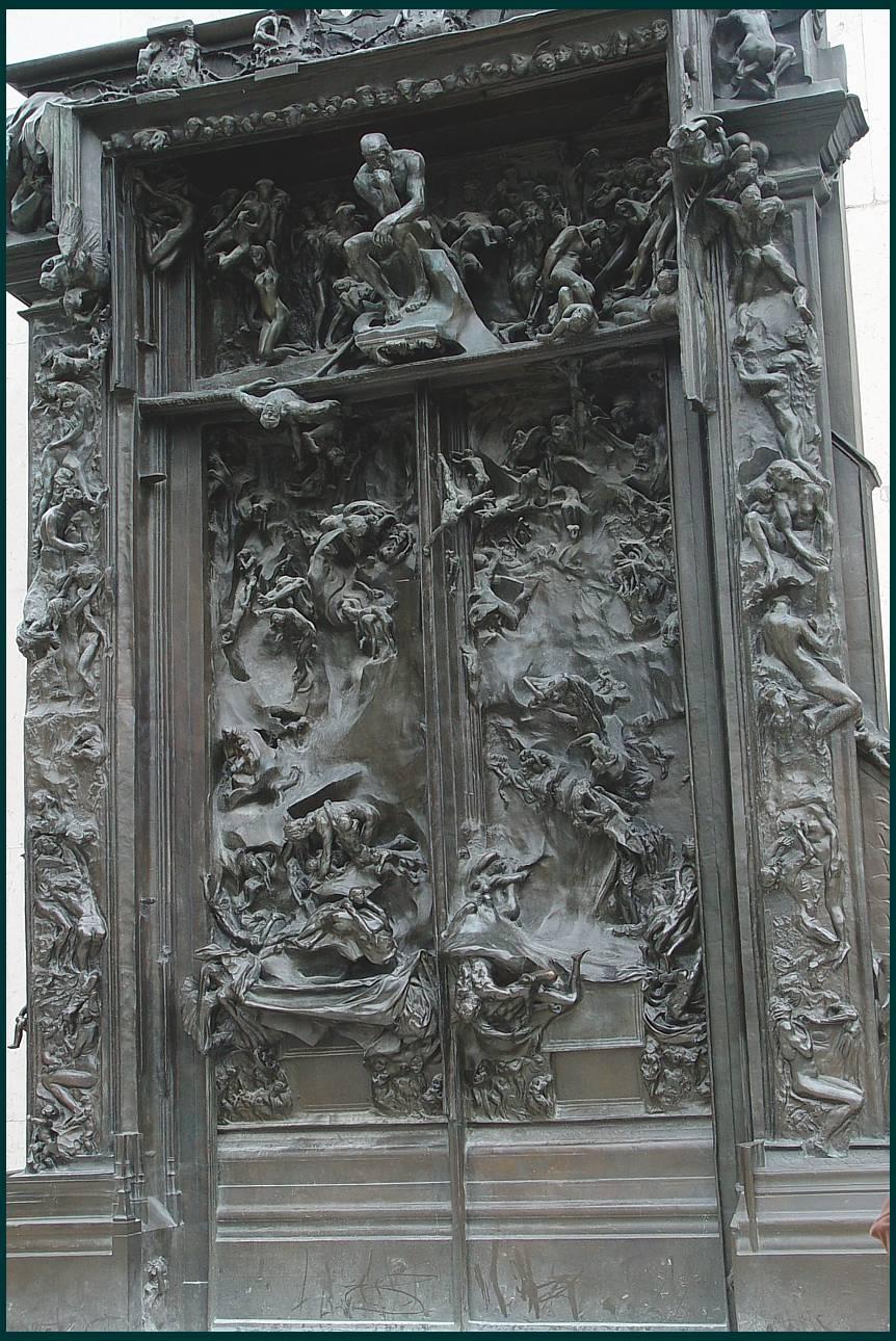 Cultura la puerta del infierno de rodin se exhibe en for 9 puertas del infierno