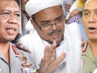 Polri Minta Interpol Buru Habib Rizieq, Tapi MUI Menolak !!