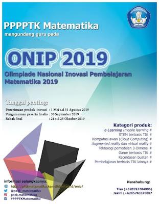 Poster ONIP 2019