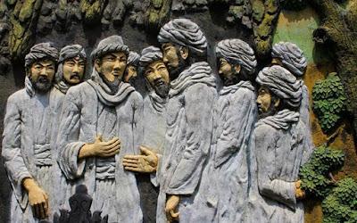 Relief dinding goa akbar