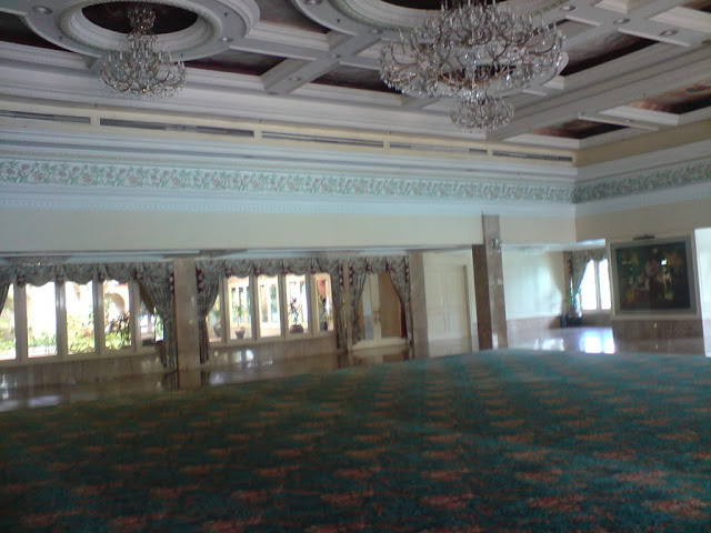 before tables and chairs