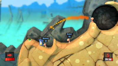 Download Worms Revolution Gold Edition Highly Compressed Game For PC