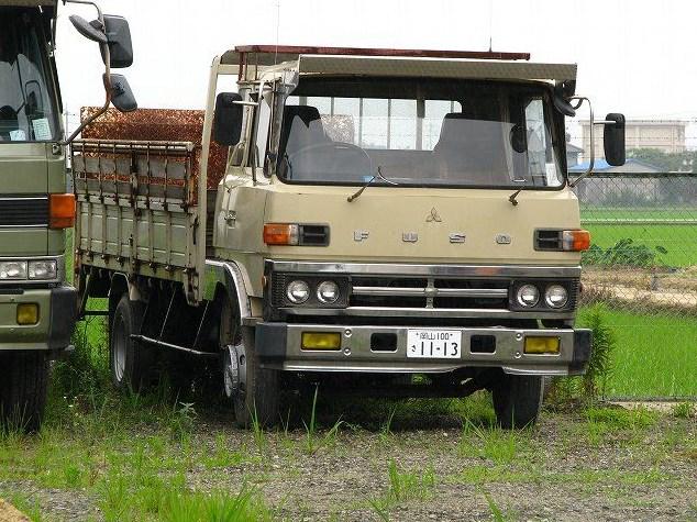 truk fuso tua bersejarah