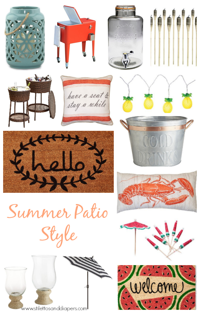 Summer 2016 Patio Style
