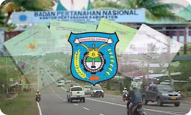 BPN Sertifikasi 1000 Tanah Milik Warga Kabupaten Sorong