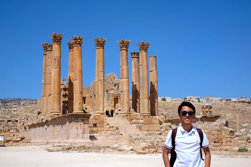 Liburan ke Jordan (Jerash dan Amman) - Temple of Artemis