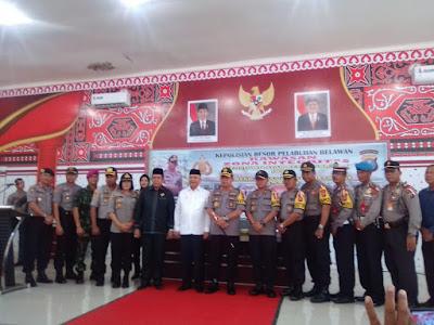 Pemilu Damai 2019 Polres Belawan kerjasama melalui FKUB dibuka Wali Kota Medan