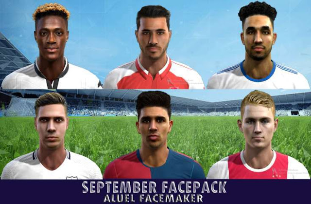 September Facepack PES 2013