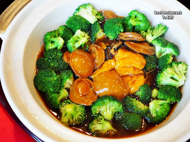 CHINESE NEW YEAR 2020 Menu - Braised 10 Headed Abalone With Tau Kan & Dried Oysters