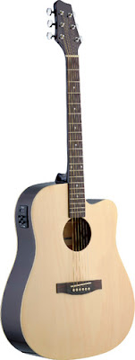 Đàn Guitar Acoucstic Stagg SA30DCE-N