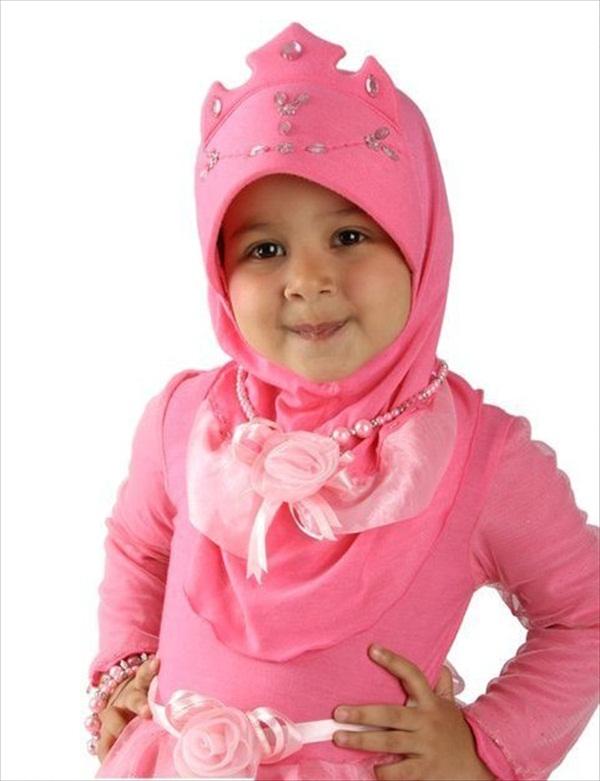 Four Amazing Hijab Styles for Kids - HIJAB STYLE