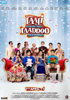 Laali Ki Shaadi Mein Laaddoo Deewana 2017 Hindi Movie Hevc [180MB] pDVDRip