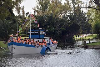 El barco de 'La Repu' hizo su viaje inaugural
