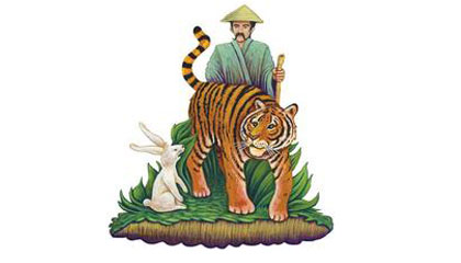 Story telling singkat the tiger in the trap Bahasa Inggris