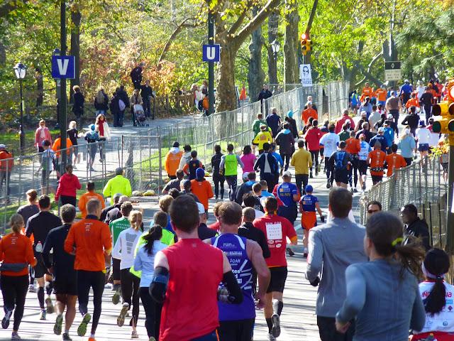 New York City 2012 Marathon Central Park