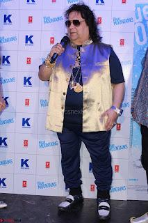 Gracy Singh and Bappi Lahiri   Blue Mountain Music Launch IMG 0680.JPG