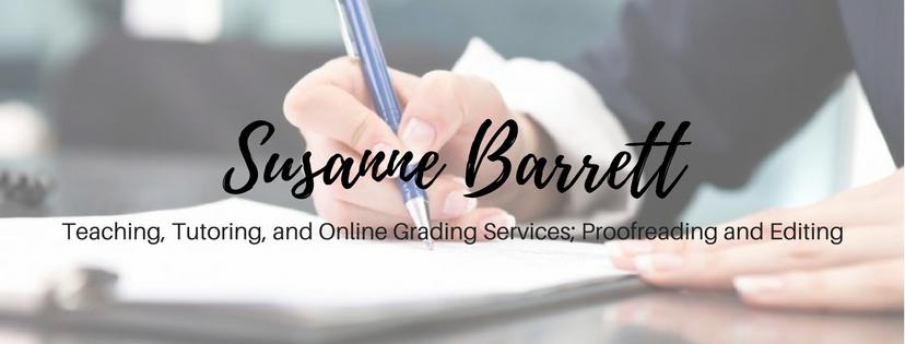 susanne barrett essay grading service