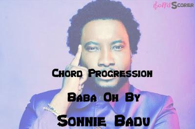 Chord Progression - Baba Oh- Sonnie Badu-Solfascorer