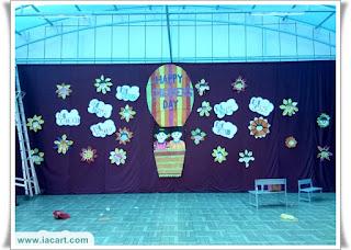 Children Stage Decoration in school or College
