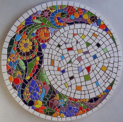 mozaikowa podstawka tutorial