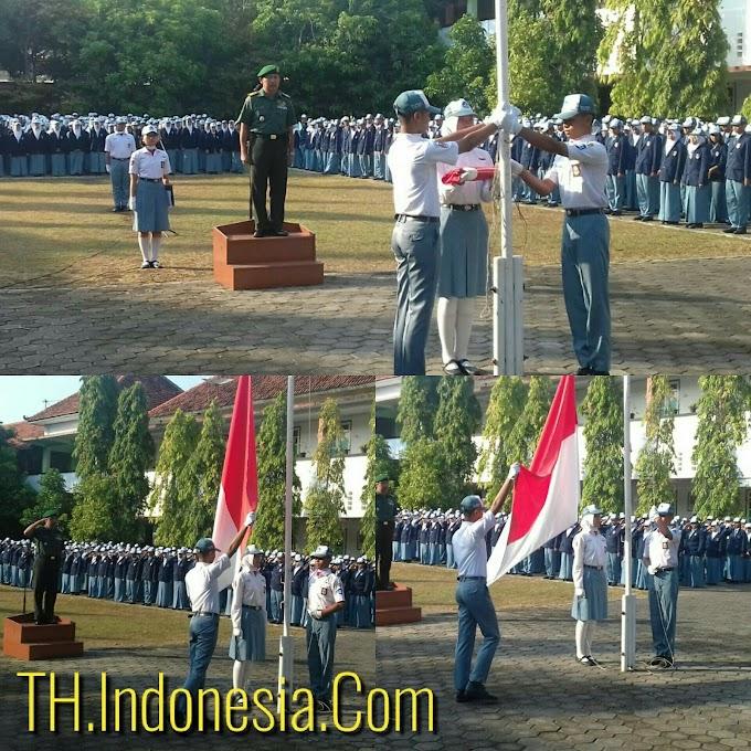 Koramil PATI Wujudkan Empat Pilar Kebangsaan Melalui Upacara Bendera