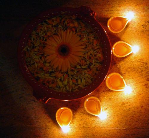Diwali Celebration Of Light Diwali Lamps