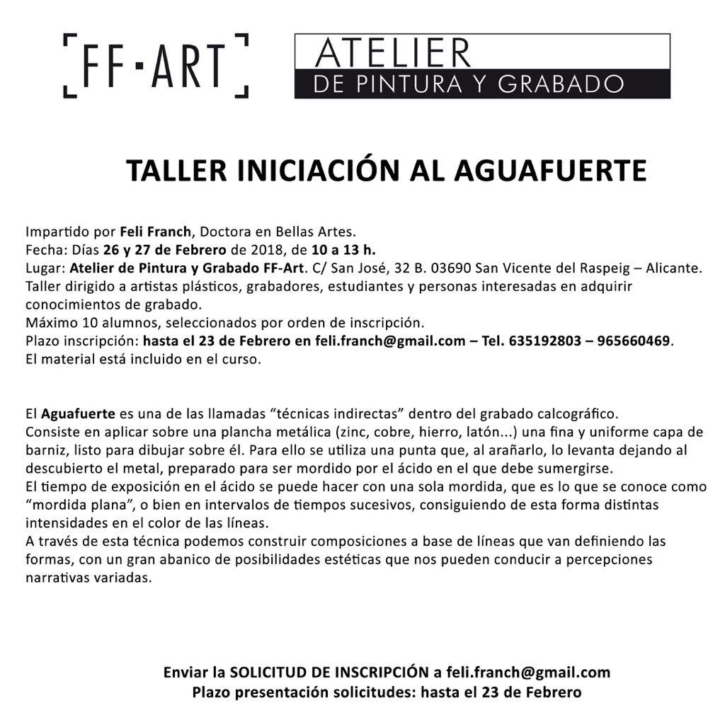 ASOCIACIÓN DE ARTISTAS ALICANTINOS: NUESTRA COMPAÑERA FELI FRACH ...