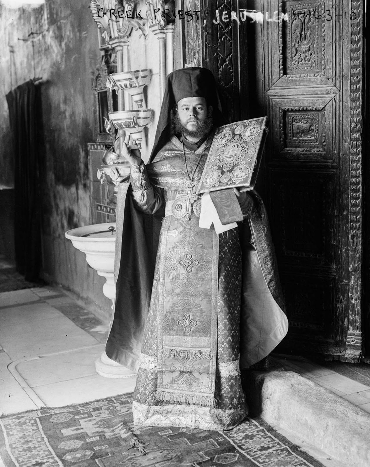 A Greek Orthodox priest. 1915.