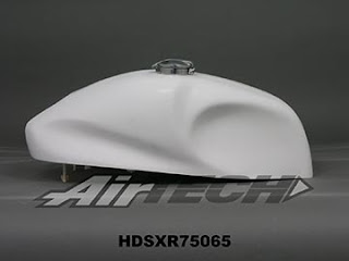 sportster tank cafe racer look by airtech streamlining