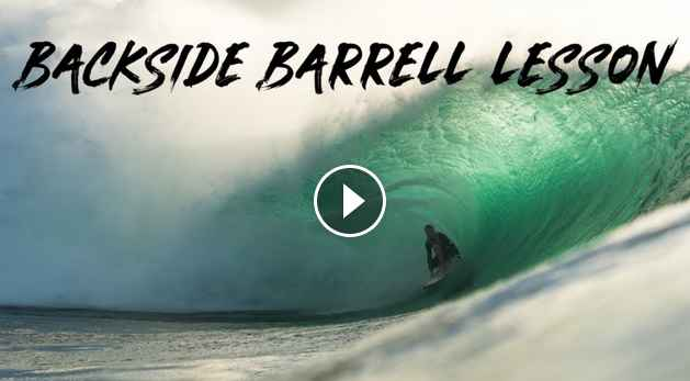 HOW TO BACKSIDE BARREL RIDE WITH JAMIE O BRIEN