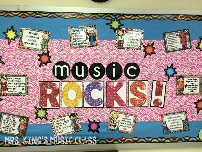 Classroom Decorations Bulletin Board Set : Mrs king s music class music classroom tour