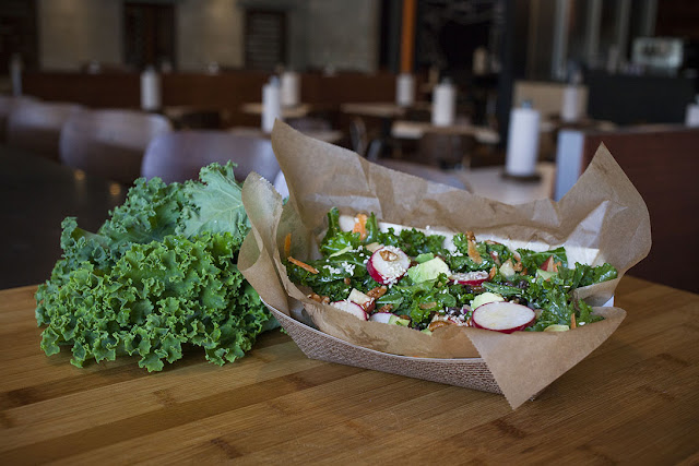 The Super Kale Salad from M Shack