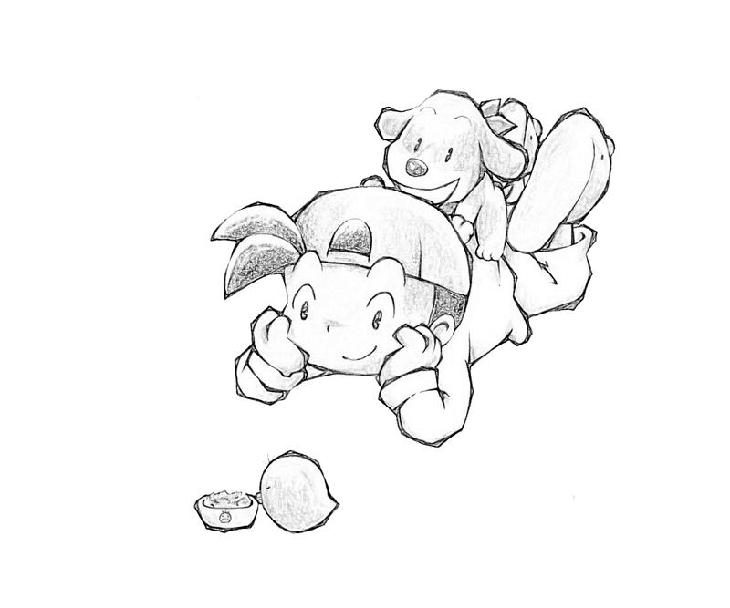 gamecube harvest moon coloring pages - photo #23