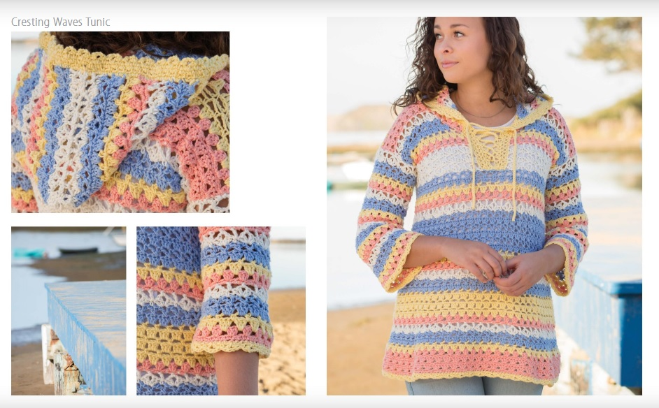Cresting Waves Crochet Tunic Pattern
