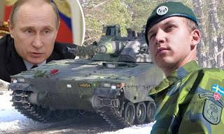 Η Σουηδία προετοιμάζει τους πολίτες της για ενδεχόμενο πόλεμο