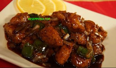 Resep Lengkap & Cara Membuat Ayam Lada Hitam