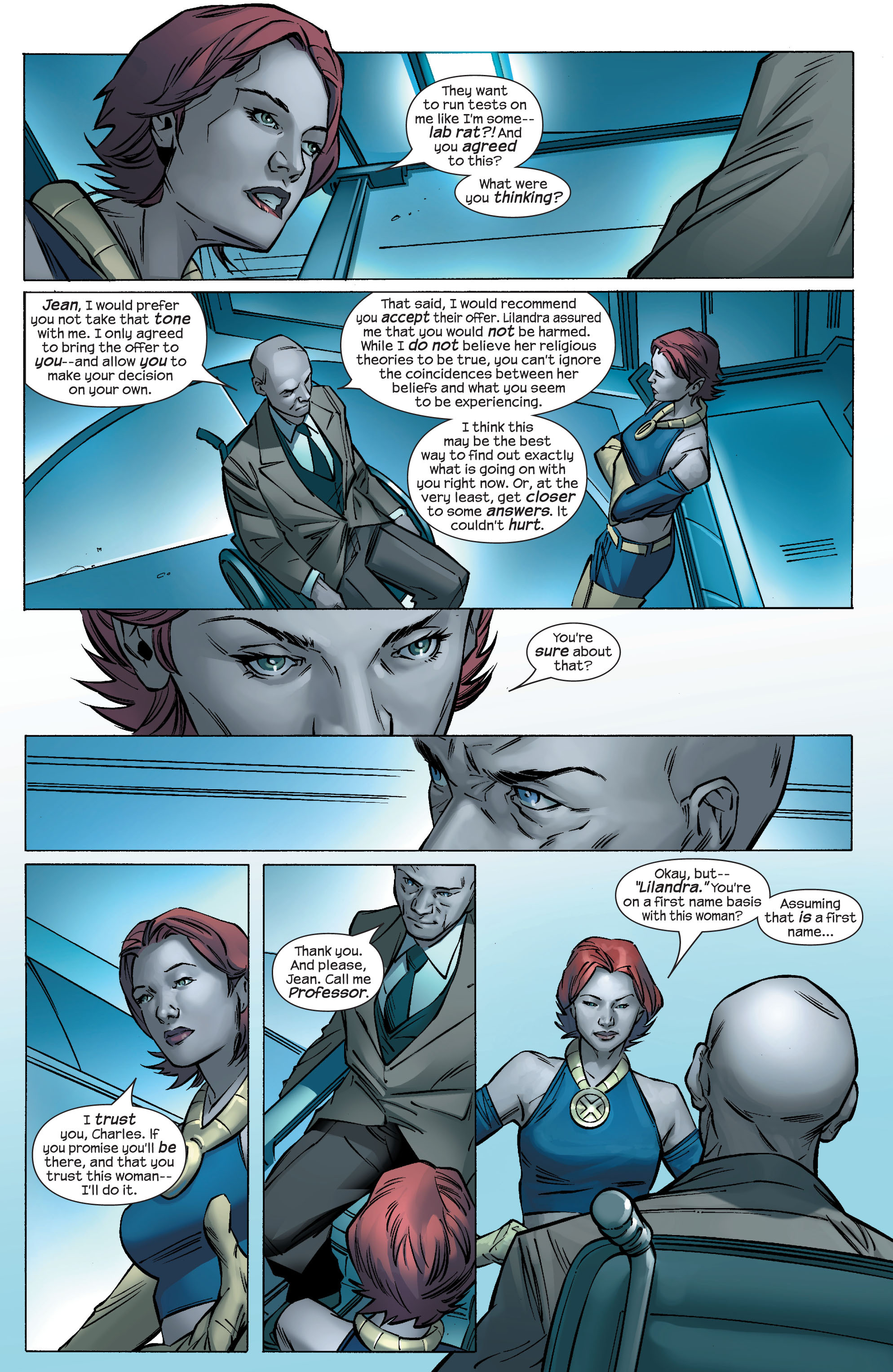 Read online Ultimate X-Men comic -  Issue #69 - 12