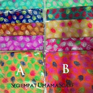 jilbab segiempat motif bunga umama scarf