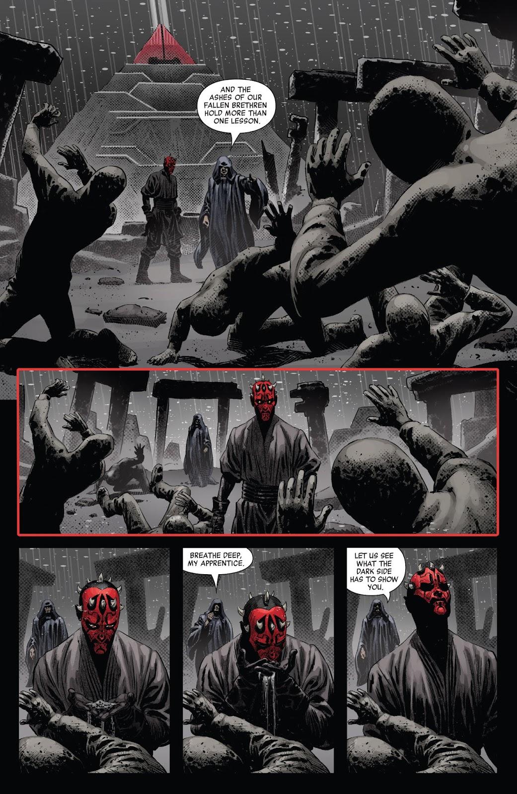 Read online Star Wars: Age of Republic - Darth Maul comic -  Issue # Full - 14