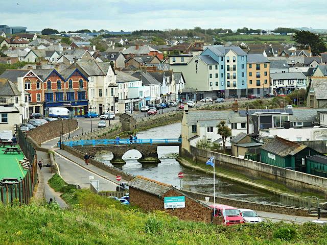 Bude, Cornwall, town