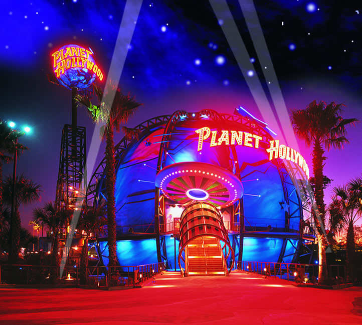 Planet Hollywood Shoe Stores