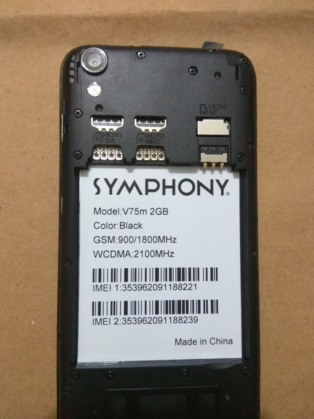 Flash File: SYMPHONY V75M 2GB RAM FRP REMOVE FLASH FILE