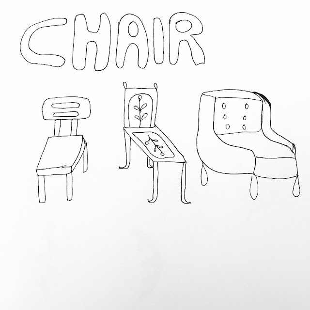 line drawing - chair