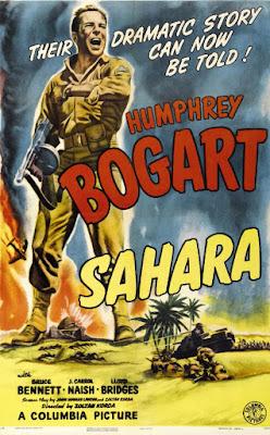 sahara film 1943 recenzja plakat humphrey bogart